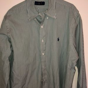 Ralph Lauren polo long sleeve BD size XL
